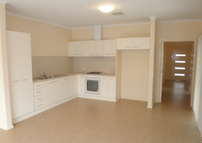 Affordable kitchen/meal area fit out