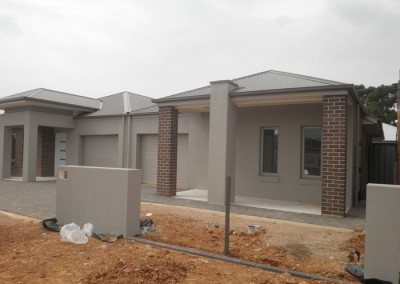 Single storey residential homes