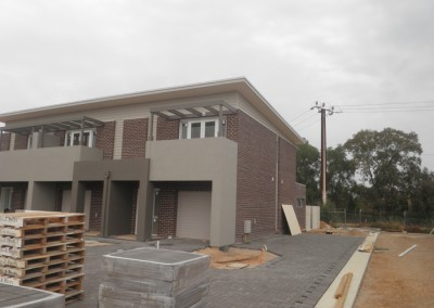2.	Double storey units at St. Clair